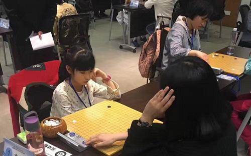 无锡10岁女孩闯入全运会围棋决赛 替父完成心愿